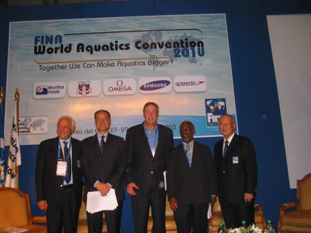 The 1ST FINA Aquatics Convention