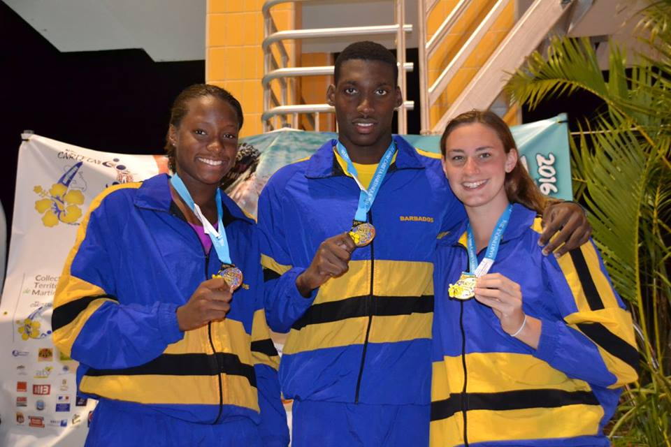 12 New Barbadian Swimming Records from Carifta 2016