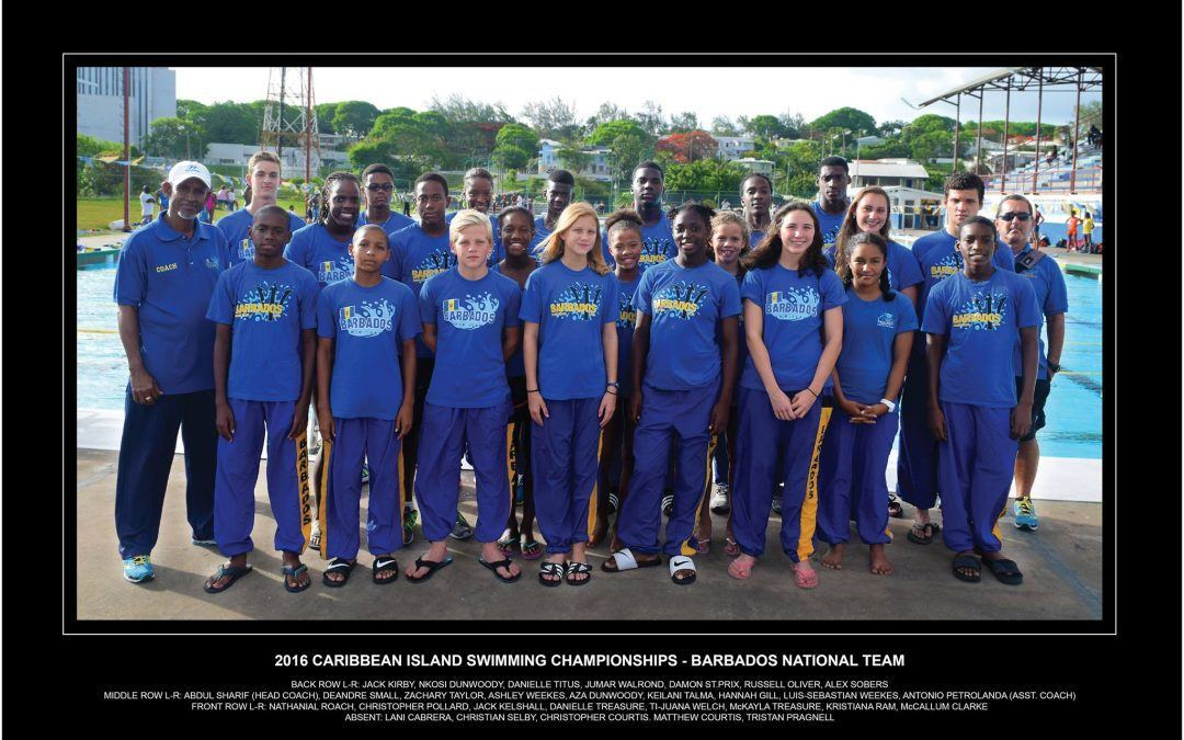 Team Barbados ready for CISC 2016!
