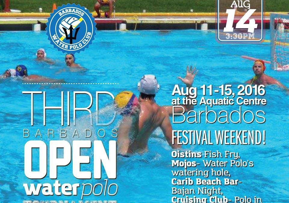 3rd Annual Barbados Open Invitational Water Polo Tournament begins