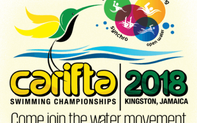 Barbados Aquatics Team for Carifta 2018
