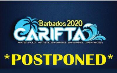 Carifta Aquatics Postponed